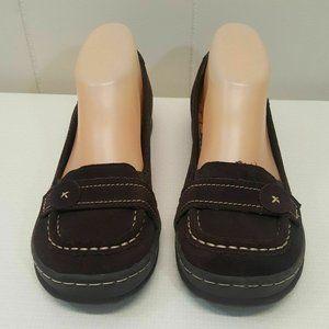 Rocket Dog 6 Loafers Flats Brown Leather Slip On